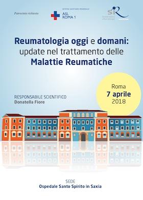 Reumatologia oggi e domani: update nel trattamento delle  Malattie Reumatiche