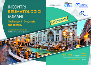 INCONTRI  REUMATOLOGICI  ROMANI – Challenges in Diagnosis  and Therapy