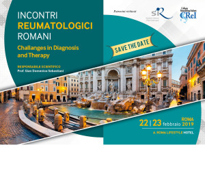 INCONTRI  REUMATOLOGICI  ROMANI – Challanges in Diagnosis  and Therapy