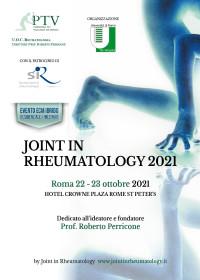 JOINT IN RHEUMATOLOGY 2021